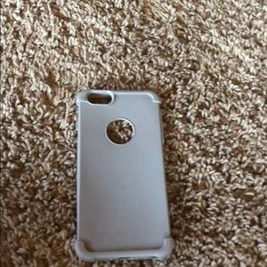 Accessories - Grey silicone phone case for iPhone 6s Plus